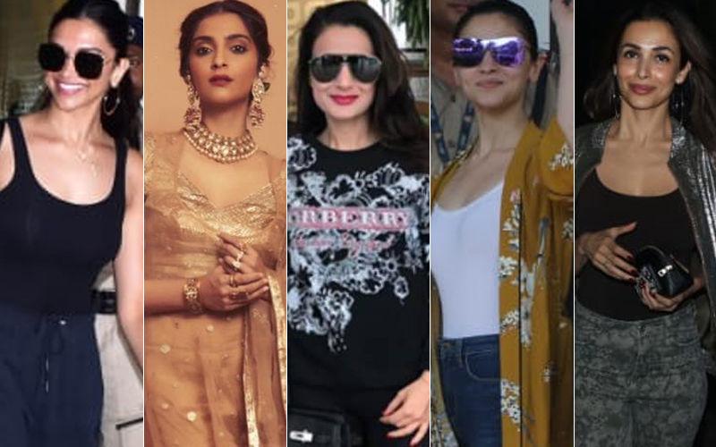 STUNNER OR BUMMER: Deepika Padukone, Sonam Kapoor, Ameesha Patel, Alia Bhatt Or Malaika Arora?