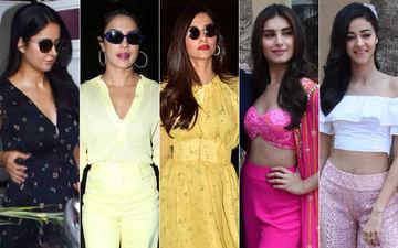 STUNNER OR BUMMER: Katrina Kaif, Priyanka Chopra, Sonam Kapoor, Tara Sutaria Or Ananya Panday?
