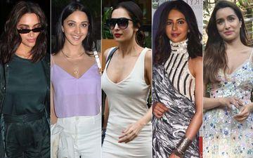 STUNNER OR BUMMER: Deepika Padukone, Kiara Advani, Malaika Arora, Rakul Preet Singh Or Shraddha Kapoor?