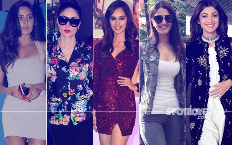 STUNNER OR BUMMER: Katrina Kaif, Kareena Kapoor, Manushi Chhillar, Vaani Kapoor Or Shilpa Shetty?