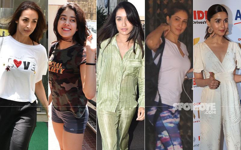 STUNNER OR BUMMER: Malaika Arora, Shraddha Kapoor, Alia Bhatt, Janhvi Kapoor Or Kim Sharma?