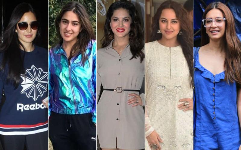 STUNNER OR BUMMER: Katrina Kaif, Sara Ali Khan, Sunny Leone, Sonakshi Sinha Or Kriti Kharbanda?