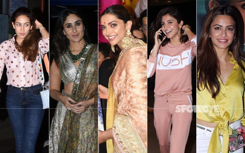 STUNNER OR BUMMER: Mira Rajput, Kareena Kapoor Khan, Deepika Padukone, Anushka Sharma Or Kriti Kharbanda?