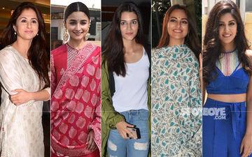 STUNNER OR BUMMER: Urmila Matondkar, Alia Bhatt, Kriti Sanon, Sonakshi Sinha Or Ishita Dutta?