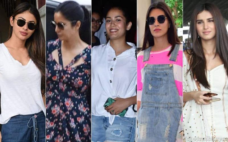 STUNNER OR BUMMER: Mouni Roy, Katrina Kaif, Mira Rajput, Kriti Sanon Or Tara Sutaria?