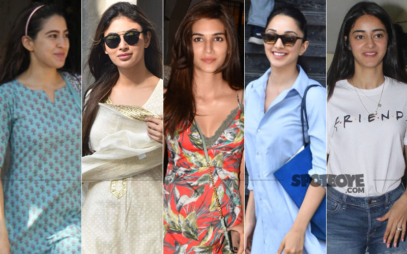 STUNNER OR BUMMER: Sara Ali Khan, Mouni Roy, Kriti Sanon, Kiara Advani Or Ananya Panday?