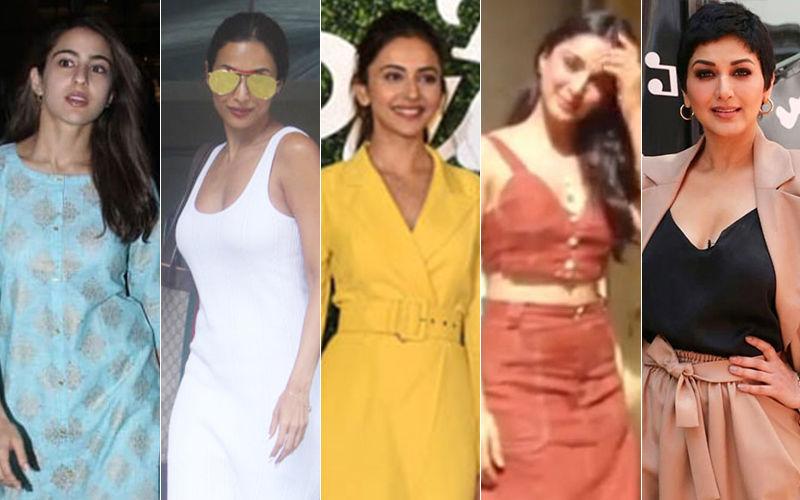 STUNNER OR BUMMER: Sara Ali Khan, Malaika Arora, Rakul Preet Singh, Kiara Advani Or Sonali Bendre?