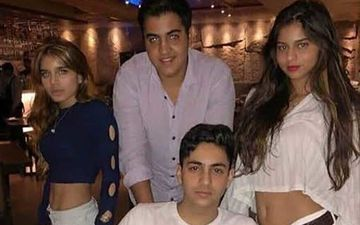 Suhana Khan's Throwback Picture Partying With Shweta Bachchan Nanda's Son Agastya And Their Pals Goes Viral