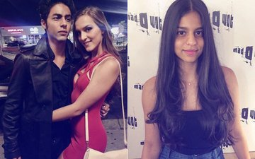 PICS: Suhana Khan Heads To The Salon, Brother Aryan Khan Snapped With A Mystery Girl