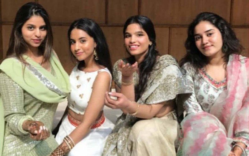 Suhana Khan Looks Gorgeous In Green At A Family Wedding- Inside Pics And Videos