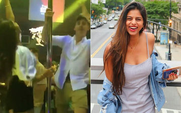 Suhana Khan Sets The Dance Floor On Fire With Her Moves- Video Alert