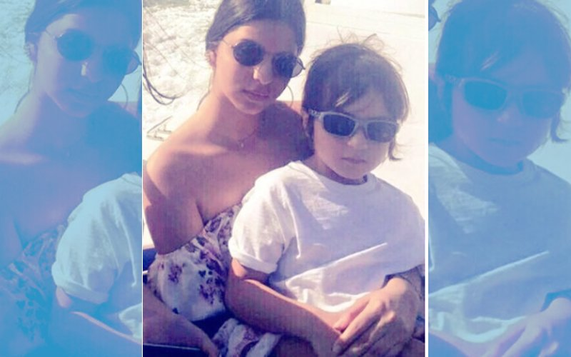 Here's The CUTEST Picture Of Suhana Khan With Brother AbRam In Her Lap