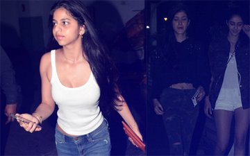 Girls About Town: Suhana Khan's Movie Time With Ananya Pandey & Shanaya Kapoor