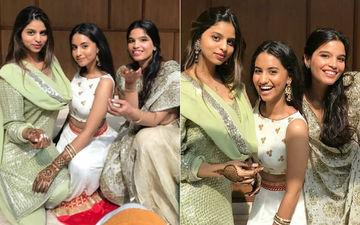 कजिन्स के साथ फैमिली वेडिंग में दिखी सुहाना खान, हाथों में मेहंदी लगाए ट्रेडिशनल लुक में लग रही है खुबसूरत