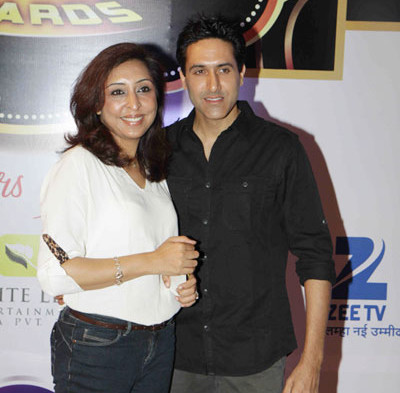 sumeet sachdev with wife amrita gujral