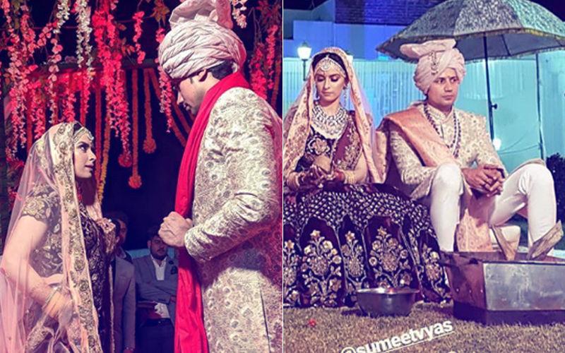 एक-दूसरे के हुए सुमित व्यास और एकता कौल, कश्मीर में की शादी