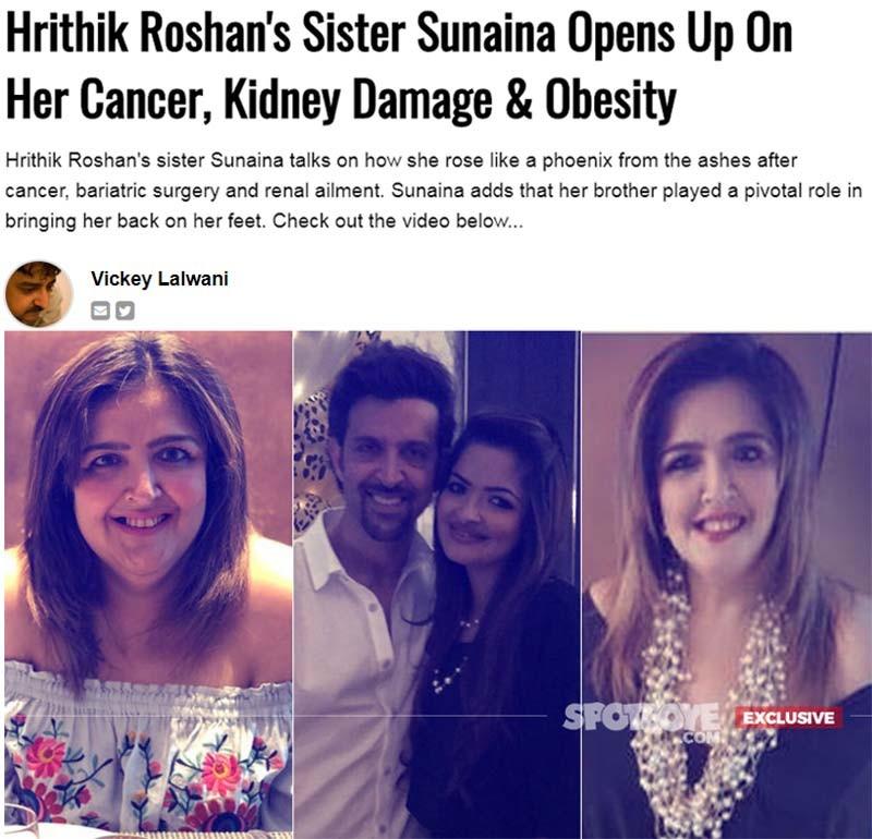 sunaina roshan interview