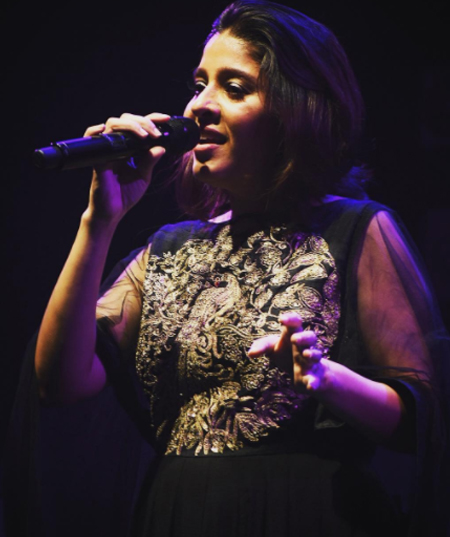 sunidhi chauhan at the concert