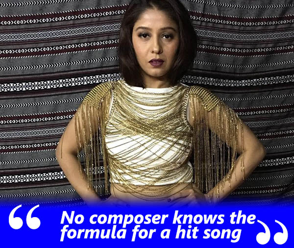 sunidhi chauhan exclusive interview talking avout composers having no formula for a hit song