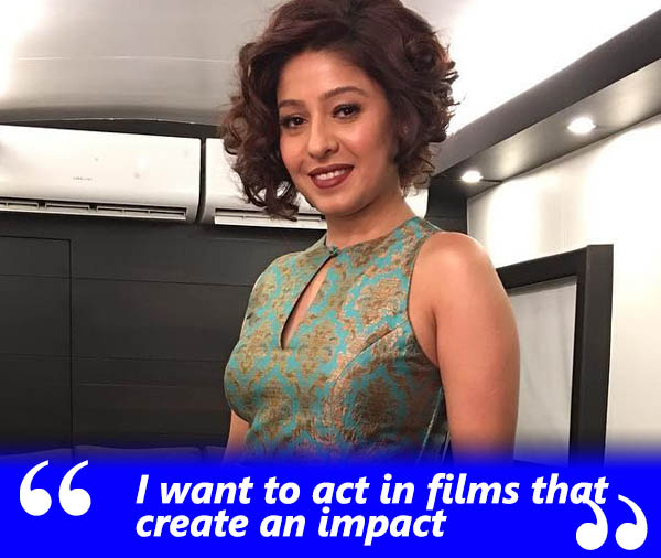 sunidhi chauhan exclusive interview talking about working in impactful films