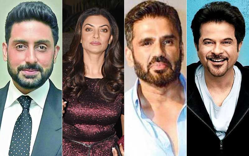 India Vs South Africa ICC World Cup 2019: Abhishek Bachchan, Sushmita Sen, Suniel Shetty, Anil Kapoor Celebrate Nation's Victory!