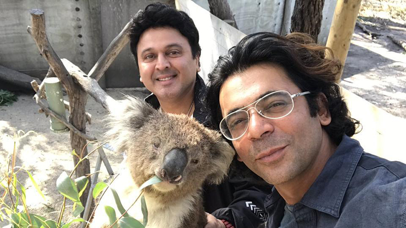 sunil grover and ali asgar are coming up with a new comedy show