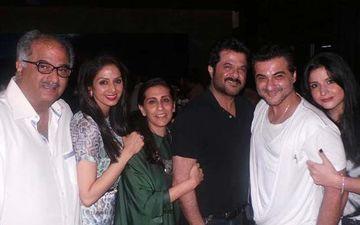 Anil Kapoor's Wife Sunita Shares Throwback Picture; Boney Kapoor-Sridevi's Smiling Faces Will Make You Heavily Nostalgic