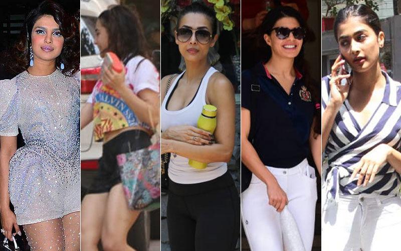 STUNNER OR BUMMER: Priyanka Chopra, Sara Ali Khan, Malaika Arora, Jacqueline Fernandez, Pooja Hegde?