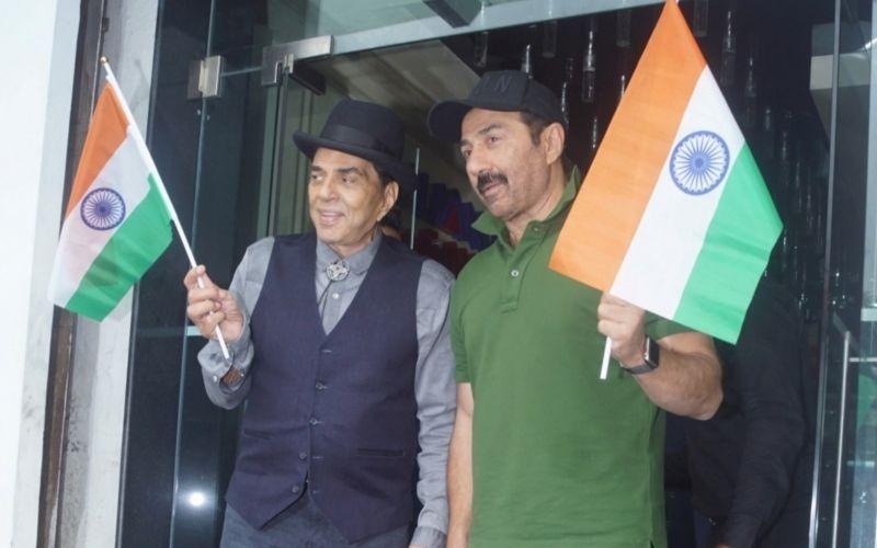 धर्मेंद्र ने मांगी सनी देओल की फिल्म 'भैय्याजी सुपरहिट' के कामयाबी की दुआ