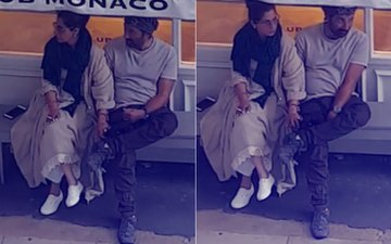LOVE OUT In The Open: Dimple Kapadia & Sunny Deol Spotted HOLDING HANDS In London