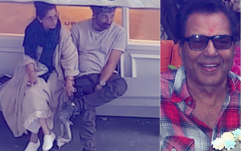 Did Papa Dharmendra LIKE Sunny Deol & Dimple Kapadia's Viral Video On Twitter?