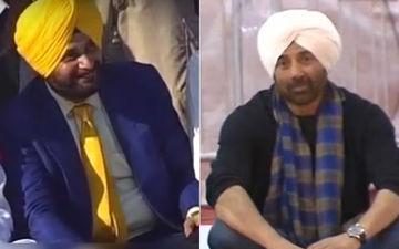 Sunny Deol And Former Cricketer Navjot Singh Sidhu Visit Baba Guru Nanak Dev At Gurdwara Darbar Sahib In Kartarpur