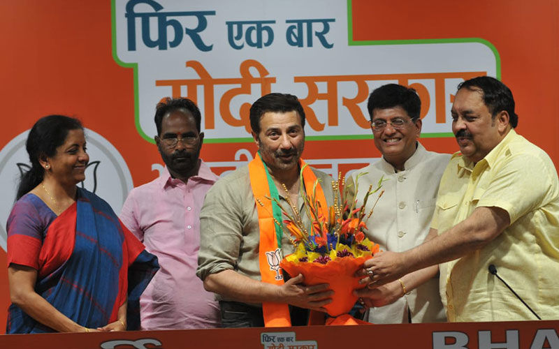 Sunny Deol Joins BJP, Will Contest From Punjab's Gurdaspur
