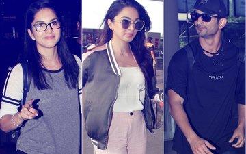 Airport Diaries: Sushant Singh Rajput, Kiara Advani & Sunny Leone's Style Diaries