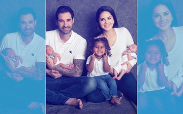 After Adopting A Girl, Sunny Leone Now Brings Two Baby Boys Home