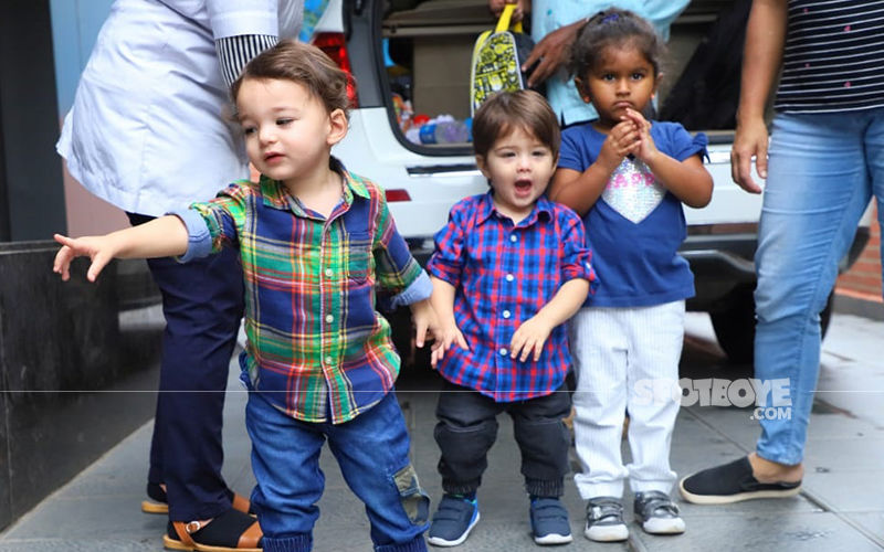 Sunny Leone's Kids Nisha, Noah And Asher Are Playful On A Sunday Morning And Their Pics Are Totally Adorbs!