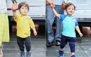 Sunny Leone's Kids Noah Weber And Asher Look Cute As A Button As They Exit Their Playschool