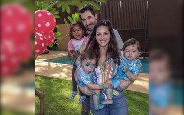 Sunny Leone's Twin Sons Turn 1, Actress Puts Out An Emotional Post