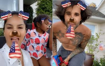 Sunny Leone Celebrates 4th Of July With Hubby Daniel Weber And Their Kids In LA Home, Says 'Proud To Be An American'- VIDEO