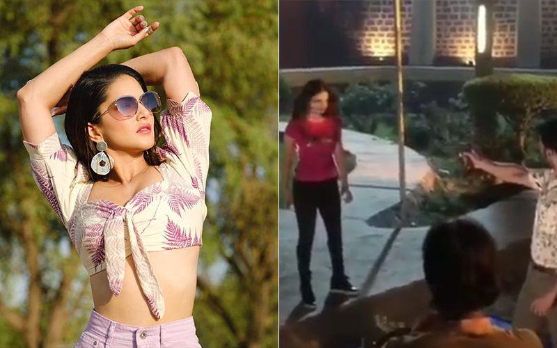 Sunny Leone's Prank Left Co-Star Dev Gill In Horror As She Collapsed After Gun Shot