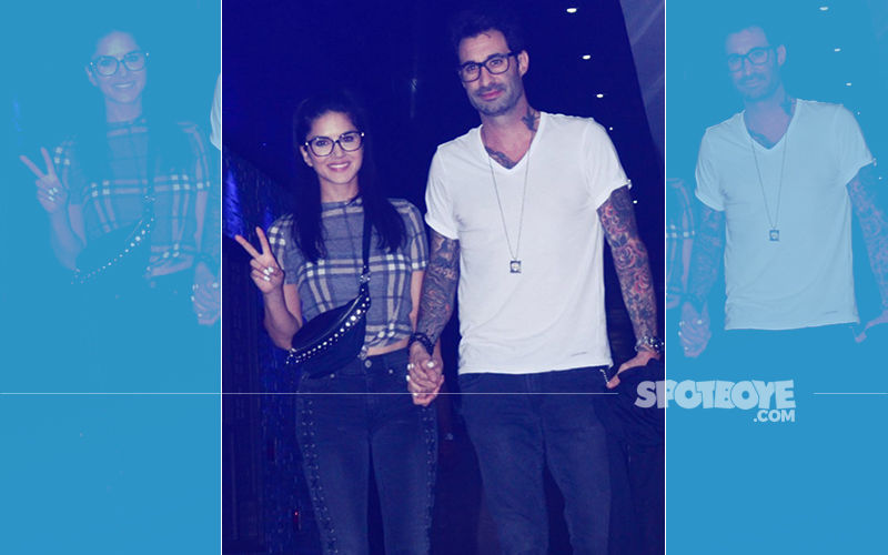Sunny Leone Channels Nerdy-Chic Look On A Romantic Dinner Date With Hubby