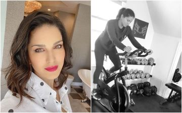 Sunny Leone Works Out In Her Boring Home Gym Amid COVID-19 Pandemic; Oozes Sarcasm, 'Can See My Level Of Excitement'