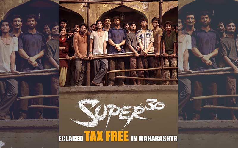 Super 30 Declared Tax-Free In Maharashta: Hrithik Roshan Thanks The Government