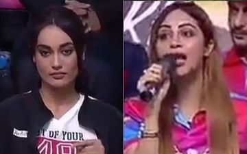 Bigg Boss Fame Arshi Khan And Naagin 3 Actress Surbhi Jyoti Engage In A War Of Words Over 'Fun' And 'Phun' - Watch Video