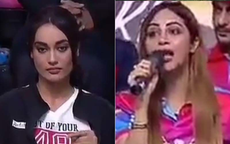 Bigg Boss Fame Arshi Khan And Naagin 3 Actress Surbhi Jyoti Engage In A War Of Words Over 'Fun' And 'Phun' - Watch Video
