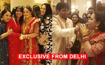 जानिए सुरभि तिवारी के दिल्ली वेडिंग रिसेप्शन की पूरी डिटेल और देखिये 11 Exclusive तस्वीरें
