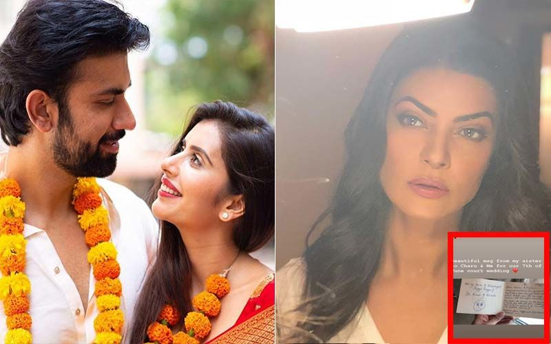 Sushmita Sen Pens A Heartwarming Note Celebrating The Wedding Of Brother Rajeev Sen