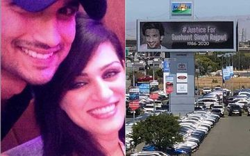 Sushant Singh Rajput Death: Sister Shweta Shares A Video Of A Billboard Seeking Justice For SSR In California; Calls It 'World Wide Movement'