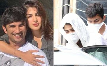 Sushant Singh Rajput Demise: Rhea Chakraborty In Tears At Cooper Hospital; Lady Looks Torn And Distraught- VIDEO