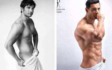 Diet Sabya Cracks The Whip On John Abraham, Sushant Singh Rajput's Bum-Baring Naughty Pics - Check Out The 'Gandi Copies'